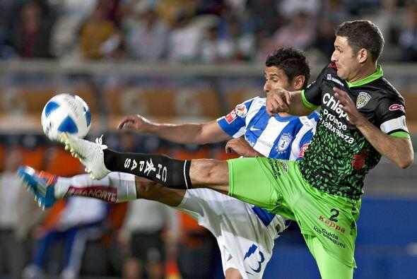 Pachuca salió en la jornada doble, ante Morelia, de una racha de tres du...
