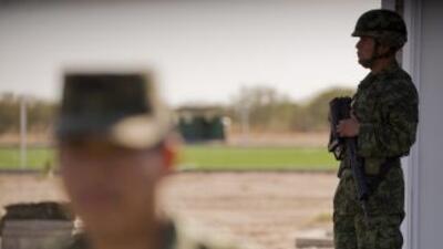 Personal de Infantería detuvo en Matamoros, Tamaulipas, a dos presuntos...