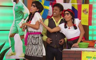 Erik Estrada le sacó brillo a la pista de la Taquería de Doña Chona