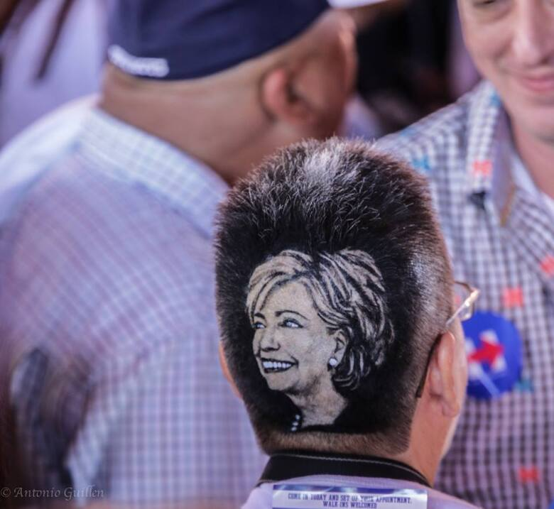 Hillary Clinton en SA