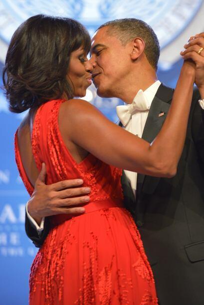 Por su parte, la primera dama de Estados Unidos, Michelle Obama, est&aac...