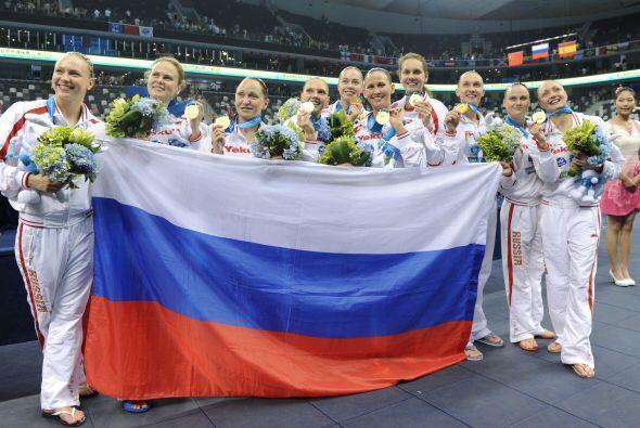 Rusia quedó en la tercera posición, mientras que Brasil se...