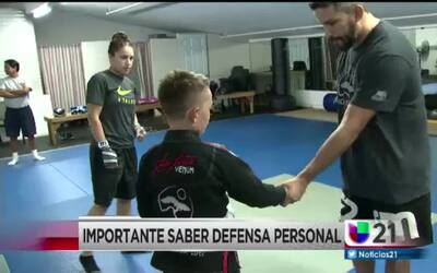 Importante saber defensa personal