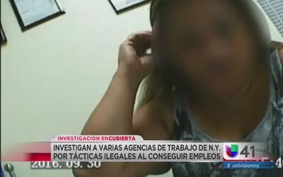 Investigan a agencias de empleos en New York por tácticas ilegales