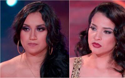 Carmen y Lluvia se ganaron su pase directo a los shows en vivo