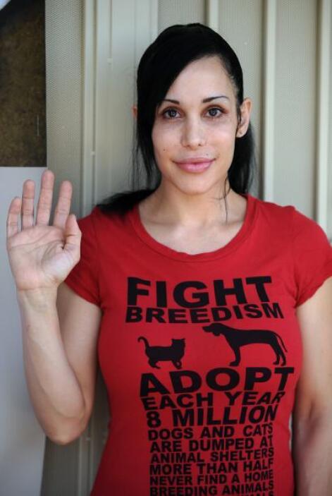 Nadya Suleman, la conocida mujer soltera estadounidense que en 2008 dio...