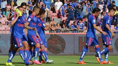 Universidad de Chile goleó 8-1 a O'Higgins