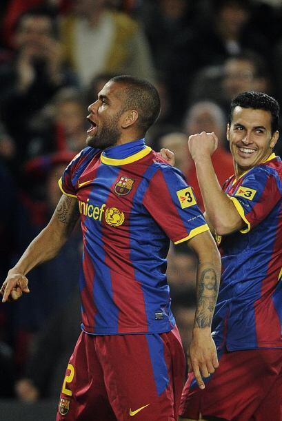 Pero fue Pedro quien volvió a hacerse presente. El duelo estaba 2-0.