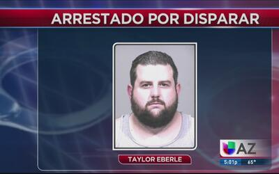 Arrestado por disparar a un compañero de trabajo en el rostro