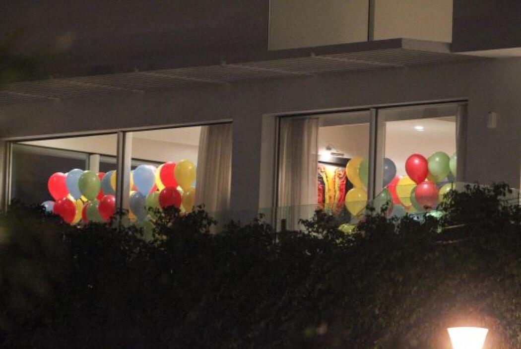 Todo el lugar, repleto de globos. Mira aquí los videos más chismosos.