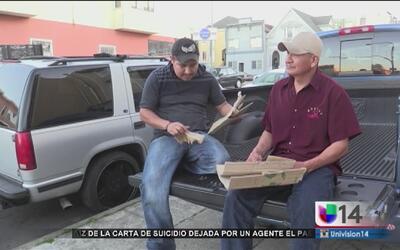 Recolectar cartón en las calles le costó su deportación