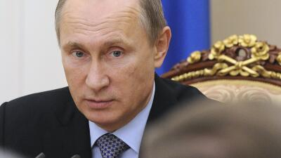 "Putin aseguró que desea ""la restauración del di&aacut..."