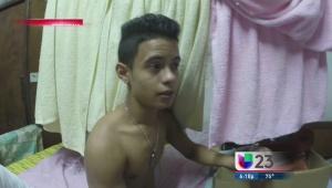 Mario Vallejo viajó a Cuba para llevarle ayuda a Abraham