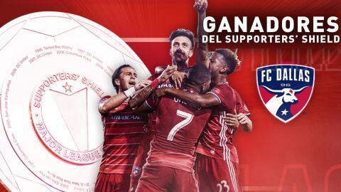 FC Dallas ganador del Supporters' Shield