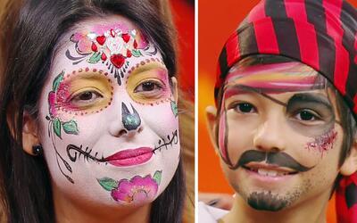 Maquillaje de Halloween 101: Disfraza y maquilla tú misma a tu familia