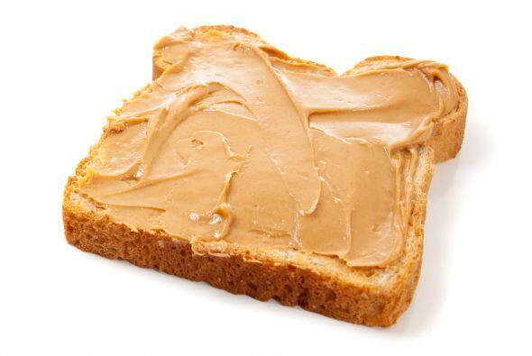 Mantequilla de maní: La crema de cacahuate es un alimento lleno d...