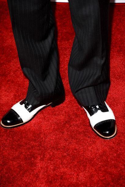 Esos zapatos tan distinguidos son los de Danny Trejo.