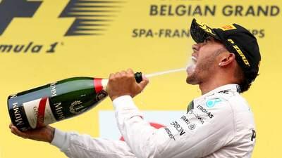 Hamilton ganó GP de Bélgica, Checo quinto