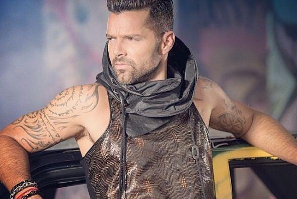 """Ricky en la sesión de """"Adrenalina""""."""