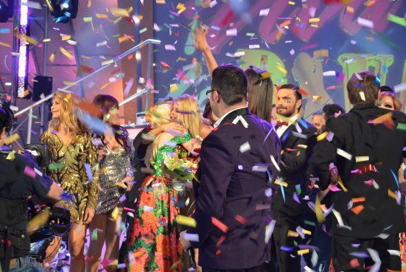 Sissi también felicitó a la ganadora y le deseó lo mejor para el futuro.
