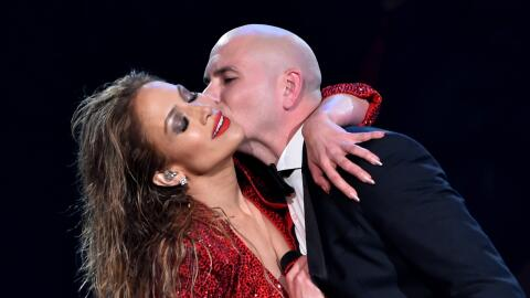 Pitbull y Jennifer Lopez