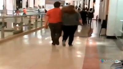 Pánico en centro comercial de Nueva Jersey