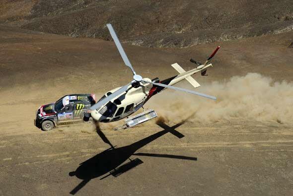 Generalmente los helicópteros son la única manera de obten...