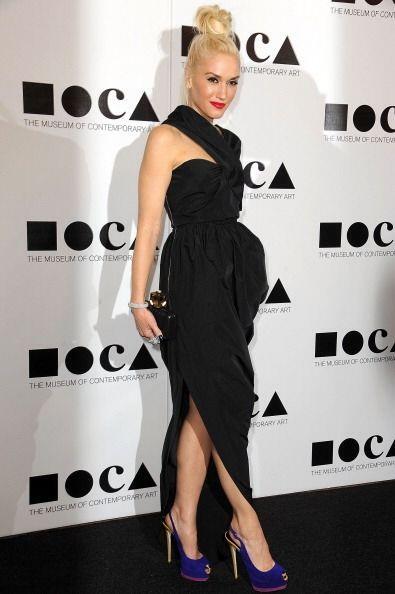 Gwen Stefani  no deja por ningún motivo que la pereza invada su espíritu...