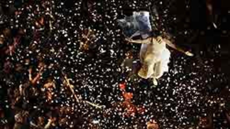 Argentina se vistió de fiesta durante la conmemoración del Bicentenario...