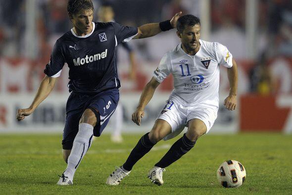 Independiente quedò ubicado en el último puesto del Grupo 8 integrado po...