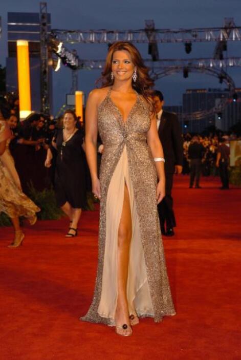 Bárbara Bermudo, sexy y elegante en 2005.