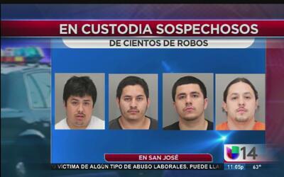 Arrestan a latinos vinculados con robos domiciliarios