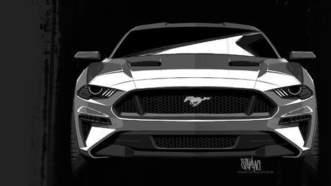 Univision, novelas, shows, noticias y deportes  2018-Mustang-design-sket...