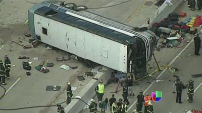 Tres muertos y 20 heridos dejó accidente en Indianápolis