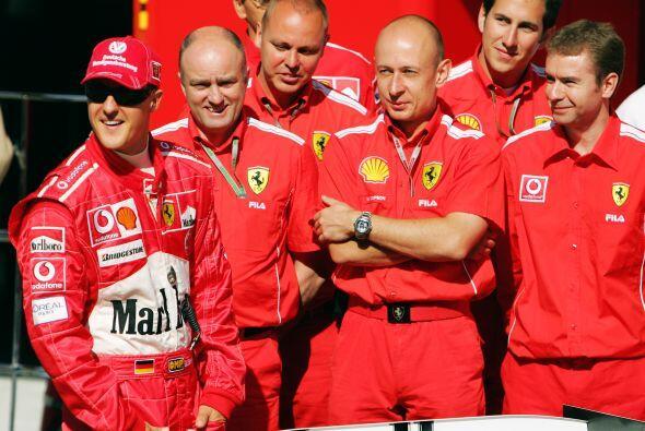 En el 2004 ganó sel séptimo y ultimo campeonato de su carr...
