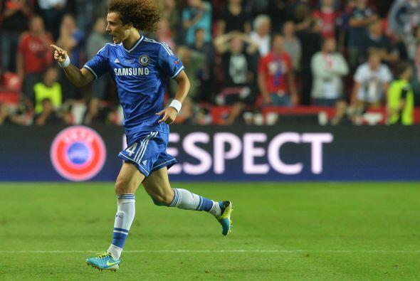 Por el Chelsea anotaron David Luiz, Oscar, Lampar y Cole, pero...