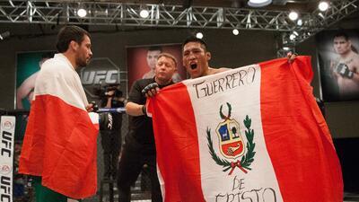 Barzola orgullo peruano.