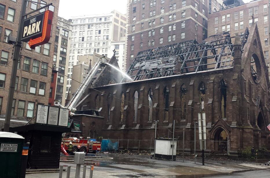 La catedral de Saint Sava, patrimonio de la Ciudad de NY desde el 1968.