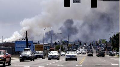 Cientos son evacuadas en Washington por incendio