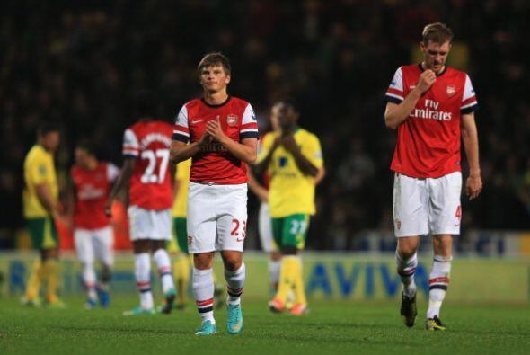 El Arsenal desperdició buenas oportunidades y se tuvo que ir con...