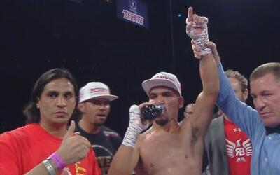 Raymundo Beltrán noqueó a Ivan Nájera en el segundo asalto
