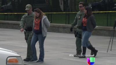 Arrestan a activistas que pedían fin de deportaciones ante la Casa Blanca