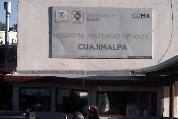 El Hospital Materno Infantil de Cuajimalpa, donde se produjo la explosió...