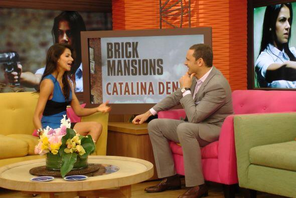 Catalina asegura que es un gran orgullo haber participado en esta produc...