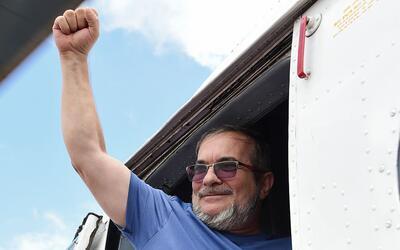 Timoleon Jiménez, alias 'Timochenko', líder de las FARC, t...
