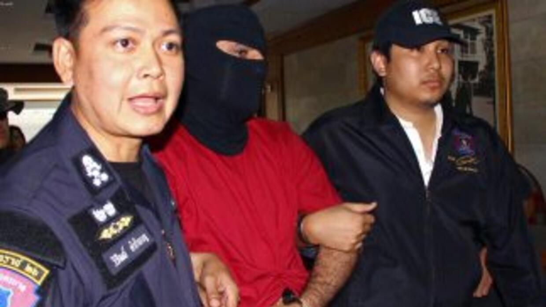 El sospechoso fue capturado en el aeropuerto de Suvarnabhumi por sus pre...