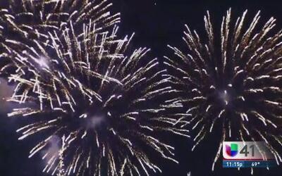 Miles de personas festejaron el 4 de Julio