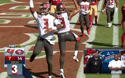 Qué manera de celebrar un touchdown