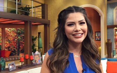 Detrás de cámaras: Ana Patricia quiso empezar su día llena de ánimo y se...