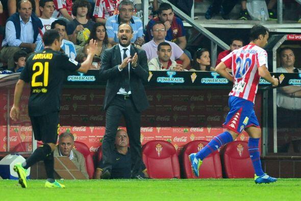 Pero su técnico Josep Guardiola les pedía que no bajaran e...